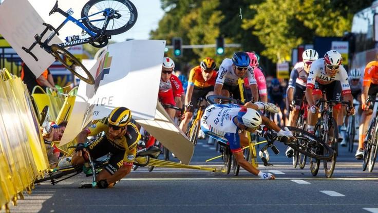 UCI ukarała Groenewegena za spowodowanie wypadku Jakobsena podczas Tour de Pologne