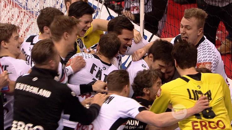 EHF Euro 2016: Haefner bohaterem ostatniej akcji. Rzut na wagę finału! (WIDEO)