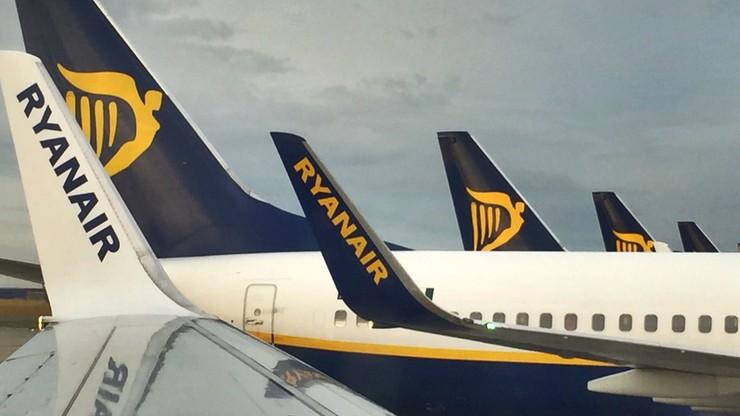 Pracownicy Ryanaira zapowiadają strajki w wakacje