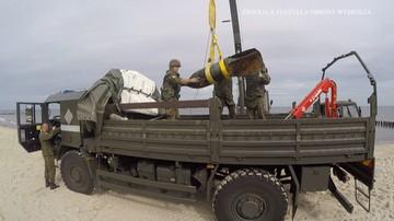 Saperzy wydobyli z Bałtyku trzy bomby lotnicze. Koniec ewakuacji w Kołobrzegu