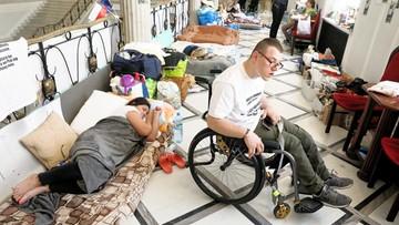 Helsińska Fundacja Praw Człowieka zaniepokojona sytuacją niepełnosprawnych protestujących w Sejmie