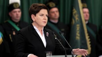Szydło: polska gospodarka będzie oparta na polskim węglu