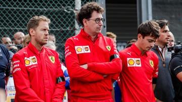 Formuła 1: Ferrari wycofuje się ze słów Binotto