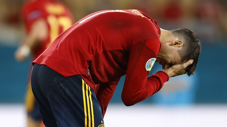 Polska - Hiszpania. Alvaro Morata: To kolejny mecz, który nam uciekł