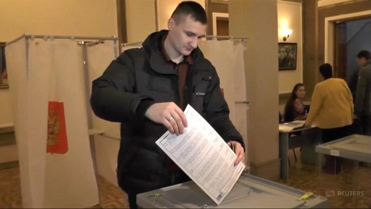 Ukraiński parlament nie uznał wyborów prezydenta Rosji na Krymie