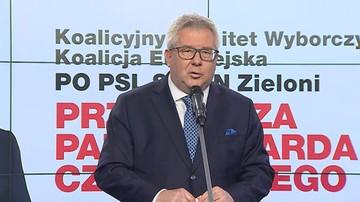 """Koalicja Europejska nie może twierdzić, że Czarnecki """"ucieka do Brukseli"""", ale nie musi przepraszać"""