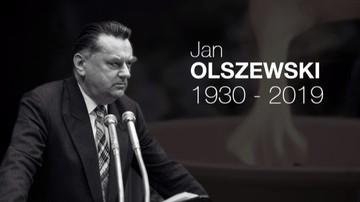 Były premier Jan Olszewski spoczął na Wojskowych Powązkach