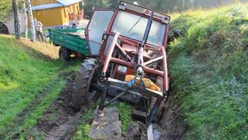 Ukradł dwa traktory sąsiadowi. Chciał mu zrobić na złość