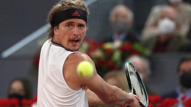 ATP w Madrycie: Triumf Alexandra Zvereva po zaciętym finale