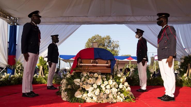 Haiti. Strzały podczas pogrzebu zamordowanego prezydenta Moise