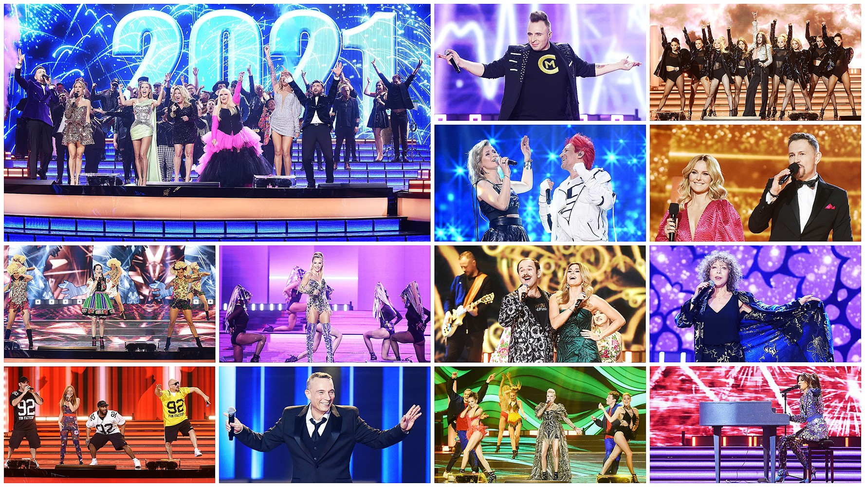 Ponad 5 mln widzów świętowało Nowy Rok z Polsatem - Polsat.pl