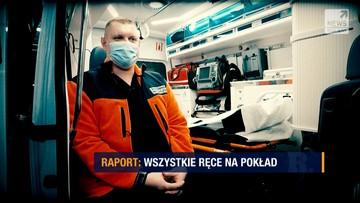 """Wsiadł do karetki, by ratować ludzi. W """"Raporcie""""  o podwójnej roli dyrektora szpitala"""