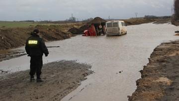 Wypadek przy budowie autostrady A1. Nie żyje operator koparki