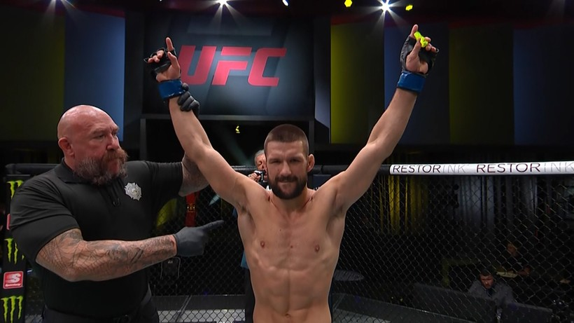 UFC: Mateusz Gamrot - Jeremy Stephens. Fenomenalny triumf Polaka!