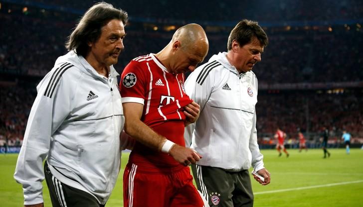 Boateng i Robben mogą opuścić rewanż z Realem Madryt