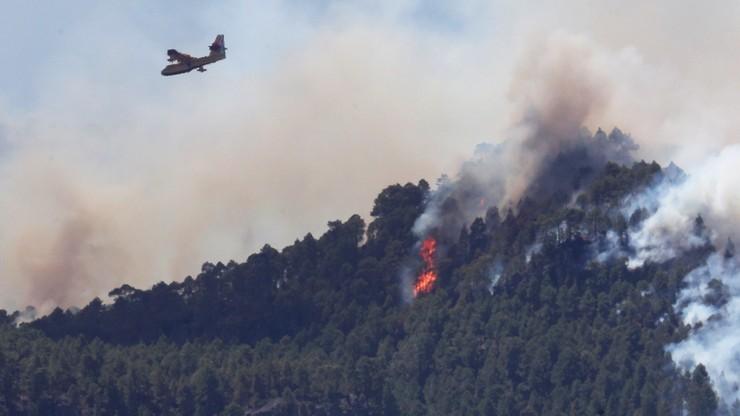Hiszpania: ugaszono pożary, które pustoszyły Gran Canarię. Strażacy walczyli