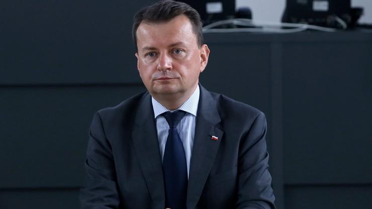 Szef MSWiA: Komisja Europejska zabrnęła w ślepy zaułek