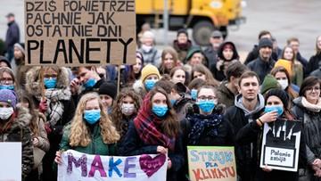 Minister środowiska podziękował młodzieży za udział w strajku klimatycznym