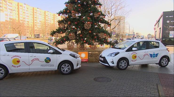 Fundacja Polsat przekazała dwa auta dziecięcym hospicjom