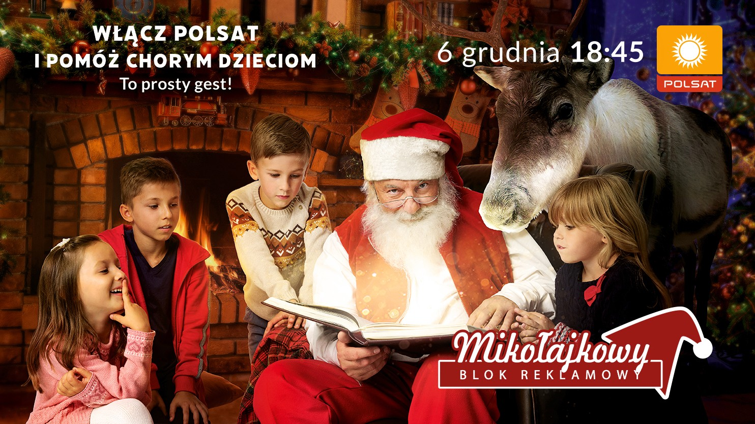 17. Mikołajkowy Blok Reklamowy. Oglądaj i pomagaj!