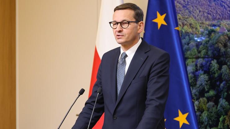 Mateusz Morawiecki otrzymał Srebrny Krzyż Solidarności Walczącej