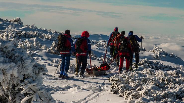 Beskidy: tej zimy goprowcy interweniowali ponad tysiąc razy