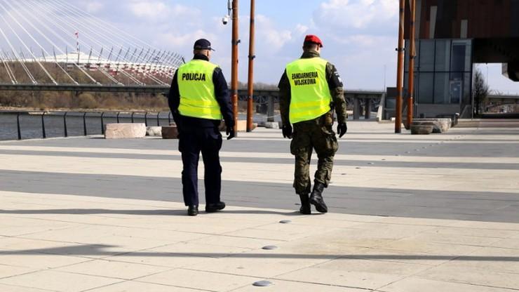 Ponad 2 tys. policjantów było lub przebywa na kwarantannie