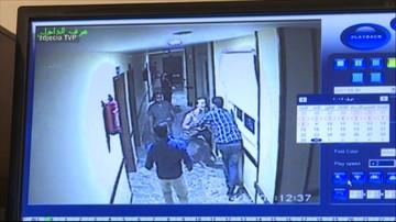 Krzyczy, wyrywa się z rąk personelu. Jest nagranie ze szpitala, w którym przebywała Magdalena Ż.
