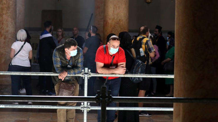 Koronawirus w Izraelu. Zamknięta bazylika w Betlejem, odwołane manewry wojskowe