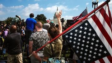 "Zwolennicy Trumpa demonstrowali pod Kapitolem. ""Ameryki już nie ma"""