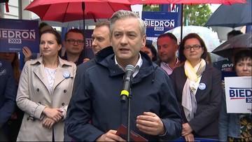 """Biedroń wzywa konkurentów do debaty. """"Porozmawiajmy o Polsce"""""""