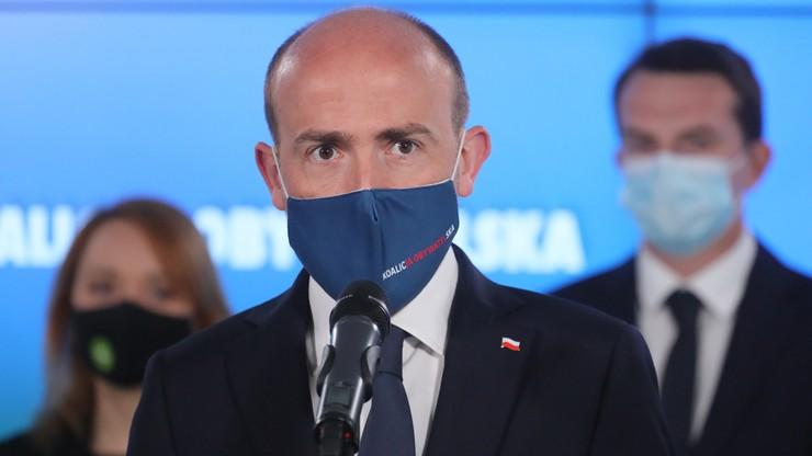 """""""Bezradność i strach władzy"""". Budka o przesunięciu wyborów w Rzeszowie"""
