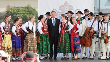 """""""Na polskich górali zawsze można liczyć"""" powiedział prezydent Andrzej Duda w Nowym Targu"""