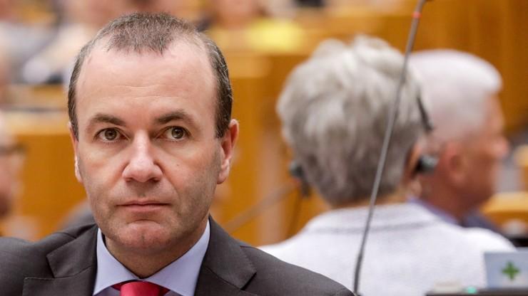 Kandydat na szefa KE Manfred Weber rozpoczyna kampanię. Praworządność jednym z motywów