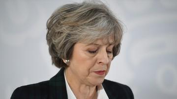 Szydło i May rozmawiały przez telefon o prawach obywateli UE na Wyspach