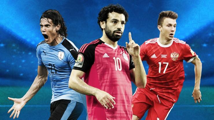MŚ 2018: Grupa A. Rosja, Urugwaj, Egipt, Arabia Saudyjska