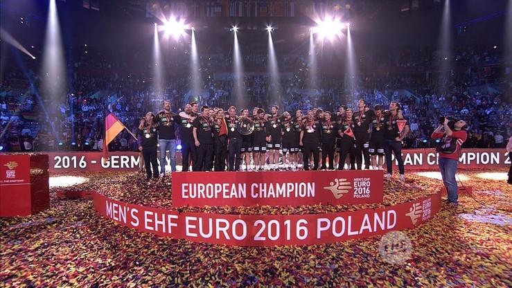 Ceremonia wręczenia medali i zamknięcia EHF Euro 2016