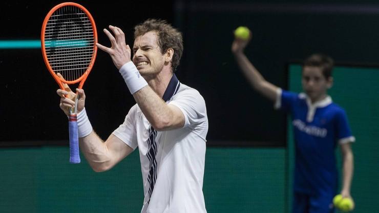 ATP w Miami: Andy Murray wycofał się z turnieju. Znamy powody