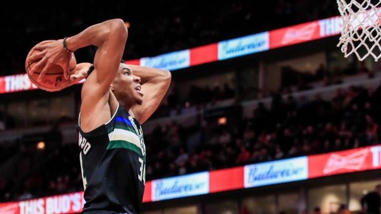 NBA: Kolejny udany mecz Antetokounmpo
