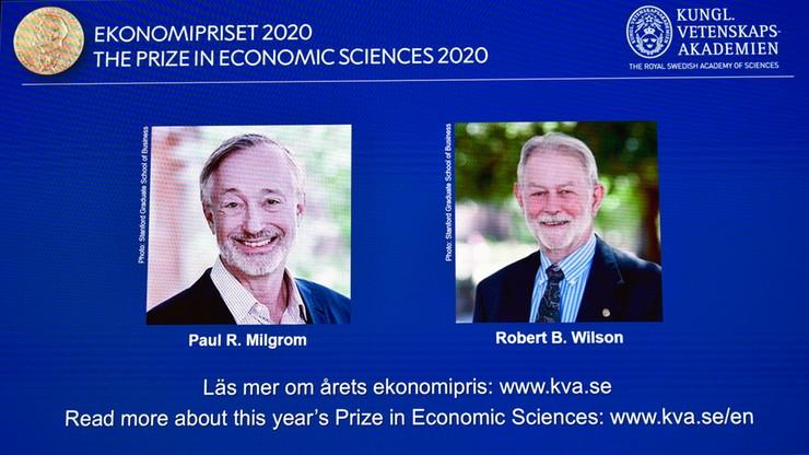 Amerykańscy naukowcy laureatami Nagrody Nobla w dziedzinie ekonomii