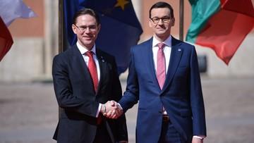 Wiceszef KE: Unia nie jest krową, którą można wydoić; oczekujemy większego wkładu Polski