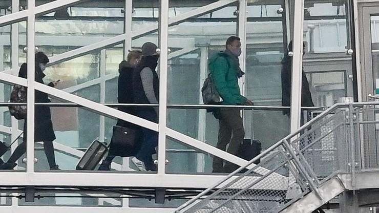 Nawalny zatrzymany na lotnisku Szeremietiewo w Moskwie