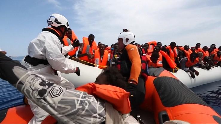 20 operacji na Morzu Śródziemnym. Uratowano 3 tys. migrantów