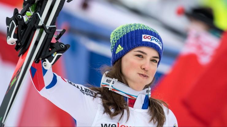 Alpejski PŚ: Vlhova najlepsza w slalomie, Shiffrin nie ukończyła