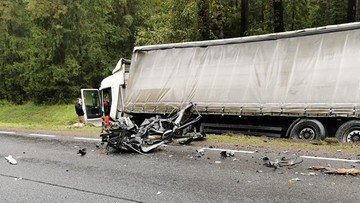 Tragiczny wypadek na Podlasiu. Wśród ofiar troje dzieci