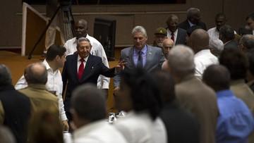 Raul Castro przekazał władzę po 12 latach rządów. Nowym prezydentem Kuby został Miguel Diaz-Canel