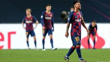 Messi nie pojawił się na treningu Barcelony!