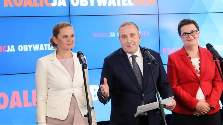 """Schetyna """"jedynką"""", za nim m.in. Lubnauer, Rosati, Fabisiak i Szostakowski. Lista KO w Warszawie"""