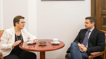 Lubnauer: będę rekomendować zarządowi Nowoczesnej poparcie tandemu Trzaskowski -  Rabiej