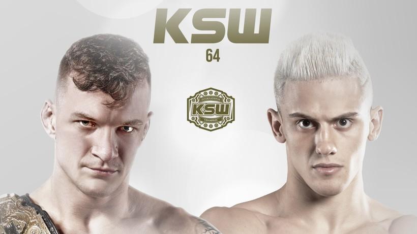 KSW 64: Sebastian Przybysz zmierzy się z Bruno Augusto dos Santosem w walce o pas